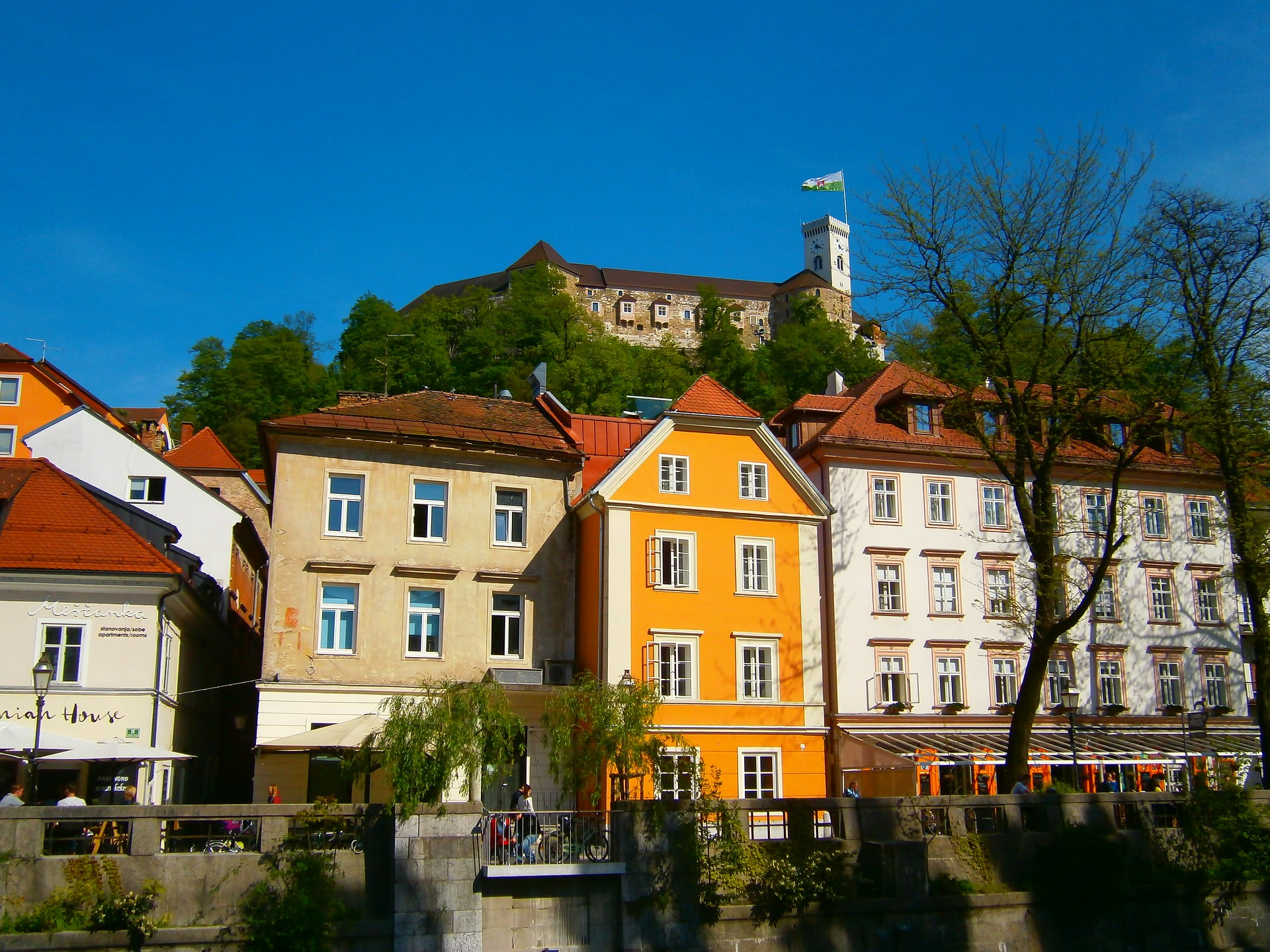 Visit the Ljubljana Castle with a funicular